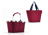 Prämie: Set 2-teilig dark ruby Reisenthel